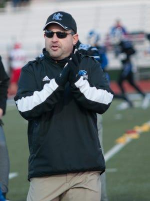 Mason Converse has been named as the new head football coach for Harper Creek.