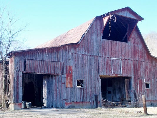 Proctor Farm barn at Beaman Park