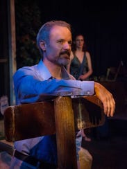 """Gerald Pitts (foreground) and Maggie Pitt in """"The Water's"""