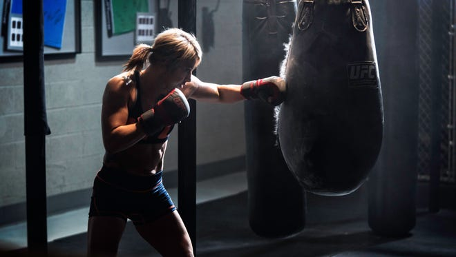 """Bath native Amanda Bobby Cooper spent six weeks on the FS1 reality show """"Ultimate Fighter."""" Her first fight since making  the show airs tonight."""
