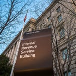 File photo taken in 2014 shows the Internal Revenue Service (IRS) headquarters in Washington, D.C.
