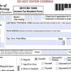 State Income Tax Refund Nj State Income Tax Refund