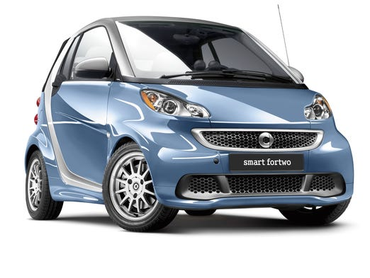 Smart, owned by Mercedes-Benz, makes this ForTwo mini car. Consumer Reports says it has so many issues you're best to aovid it.