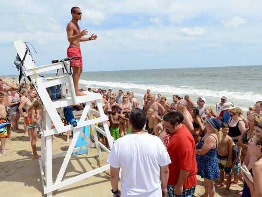 Rough Surf - 28th St Ocean City - 2014