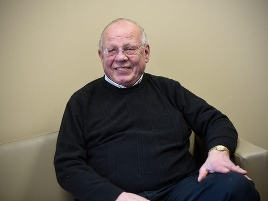 Ron Harper talks about his service in Vietnam during an interview Thursday, Jan. 18, in St. Cloud.