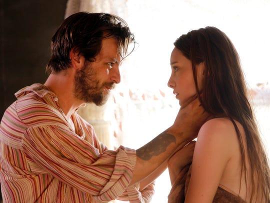 Charles Manson (Gethin Anthony) lures Emma Karn (Emma