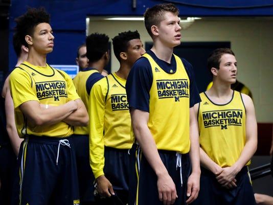 NCAA Basketball: NCAA Tournament-Practice