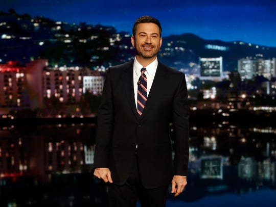ABC late-night host Jimmy Kimmel joked about the presidential