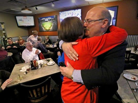 Olson relected Franklin mayor