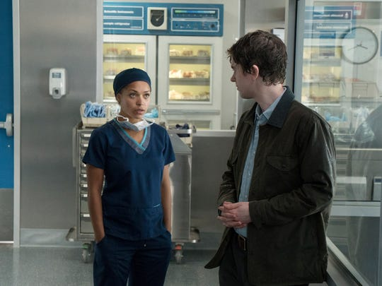 Antonia Thomas and Freddie Highmore play surgeons on
