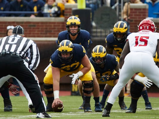 NCAA Football: Rutgers at Michigan