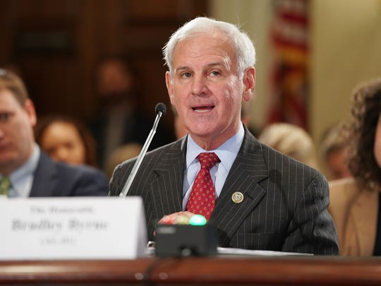 Rep. Bradley Byrne testifies before the House Administration Committee on Nov. 14, 2017.
