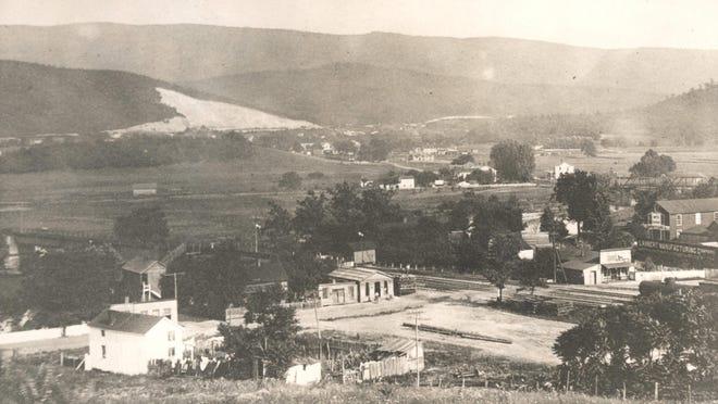 Port Republic Road, circa 1890.