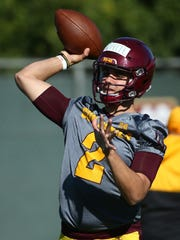 Arizona State quarterback Brady White.