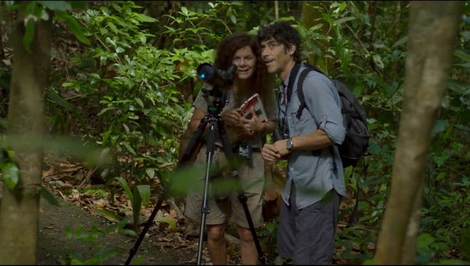 """Suicidal librarian Jane (Marcia Gay Harden) finds herself again on a vacation to Costa Rica in """"After Words."""""""