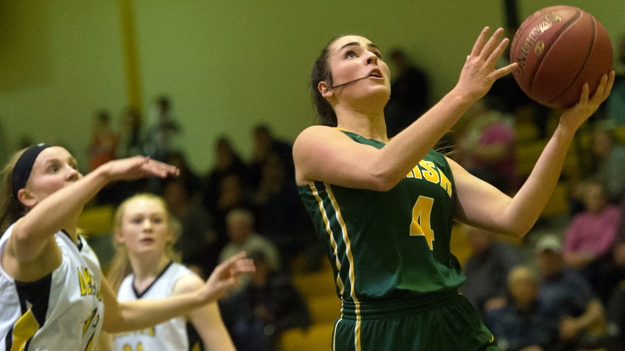 Video and photos from Delone Catholic's 49-42 win over York Catholic, Friday, Jan. 5.
