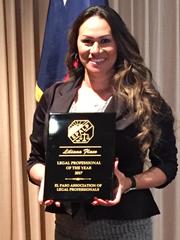 Liliana Flaco, of Mounce, Green, Myers law firm in El Paso.