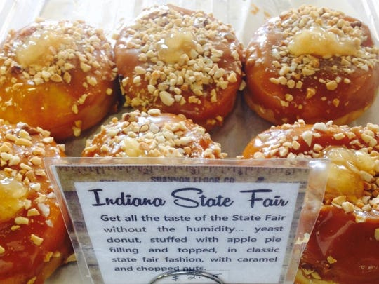 The Indiana State Fair doughnut might remind you of a caramel apple.