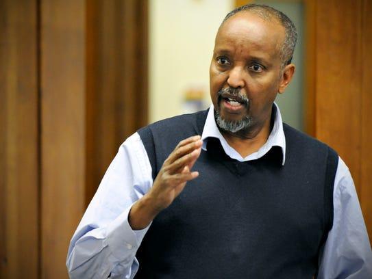 Somali elder Jama Alimad talks about the mediator training