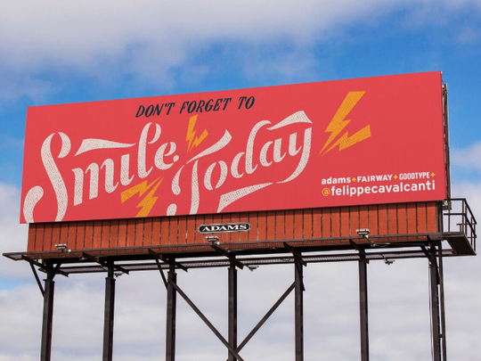 Sixty printed and digital billboards in Indianapolis will feature positive messages through Sept. 2.