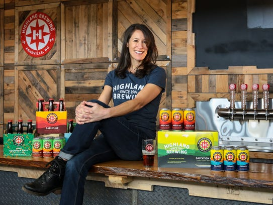 Leah Wong Ashburn of Highland Brewing Co.
