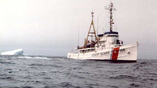 """The Coast Guard vessel Tamaroa, which once towed warships to safety during World War II and battled 40-foot waves to help rescue seven people in what was portrayed in the book and film """"The Perfect Storm,"""" is poised to be sunk off the New Jersey and Delaware coasts."""