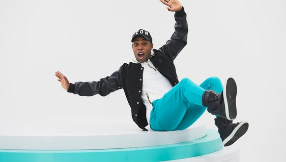 YouTube phenom Todrick Hall, who just released a '90s/Disney