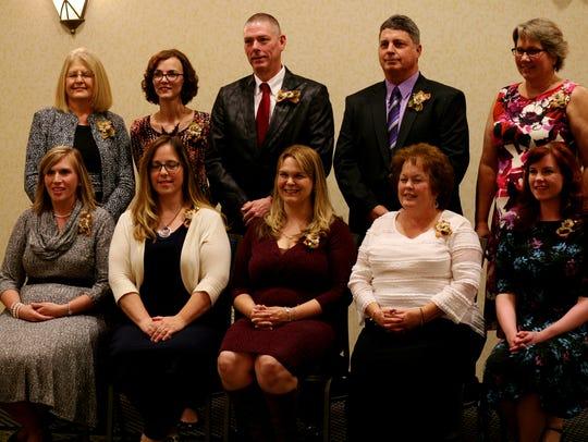 The ten recipients of teh 23rd annual Dawbarn Education