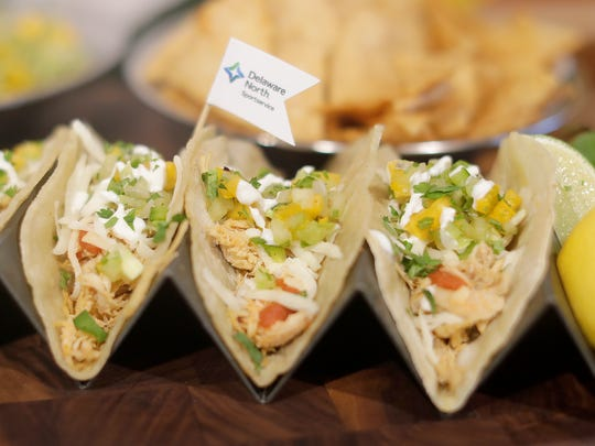 The lines were longest in the club level at Lambeau Field for the tacos, says executive chef Heath Barbato.