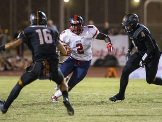 Zidane Thomas, the top returning running back in Arizona, will have to go through hardship with the AIA to not lose the first five games of his senior football season at Centennial after a brief move to Florida.