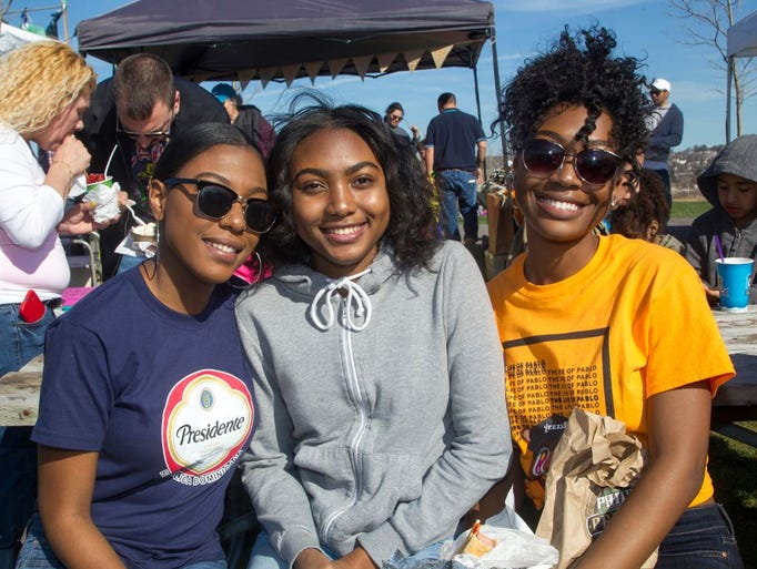 Lilah, Mia, Maria. JC'S Fun & Food Truck Festival at