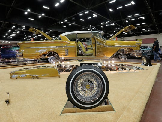 About 250 cars will be on display during the Championship