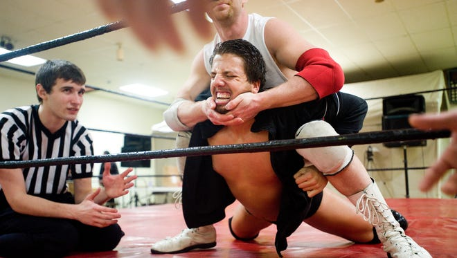Vermont's own professional entertainment wrestling community, Slam All-Star Wrestling, performed monthly shows at the Moose Lodge in St. Albans in 2011.