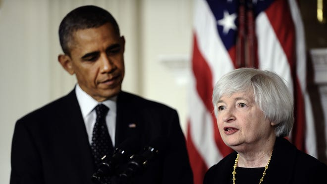 Economist Janet Yellen is President Obama's choice to be the next chairwoman of the Federal Reserve.