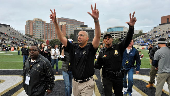 James Franklin has done the impossible: Turn Vanderbilt into a consistent winner.