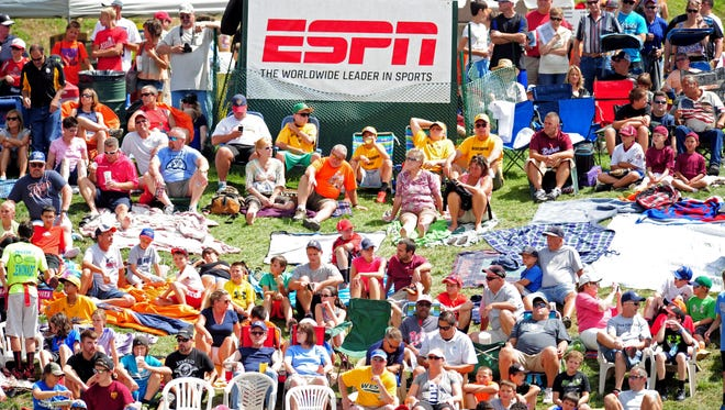 Little League has an eight-year, $76 million contract with ESPN to televise its World Series.