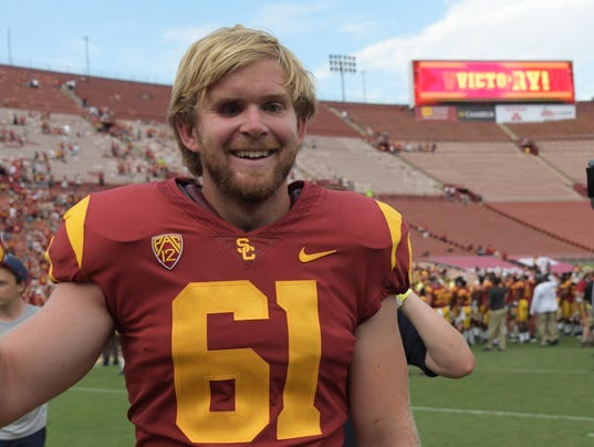 Jake Olson, USC football