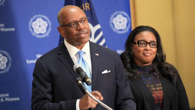 File photo: Cedric Alexander sharing his vision for Rochester as deputy mayor in March 2017.