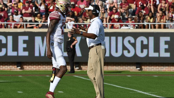 James Blackman threw for 421 yards and four touchdown's in FSU's loss to NC State.