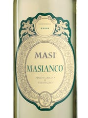 Pinot grigio is blended with verduzzo to add structure and body to this Masi Masianco.