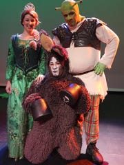 'Shrek the Musical' will be presented at Levoy Theatre.