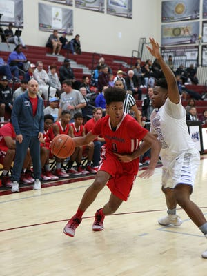 Scenes from the Crossroads versus Desert Pines basketball game during the MaxPreps Holiday Classic game in Rancho Mirage on Tuesday, December 27, 2016.