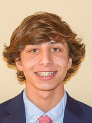 Alek Elder won the 100 backstroke and was part of two winning relays as Salesianum took its third straight team title at the DIAA Boys Swimming and Diving Championships on Saturday.