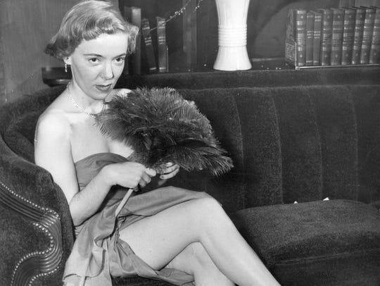 Early photo of Norma Macmillan