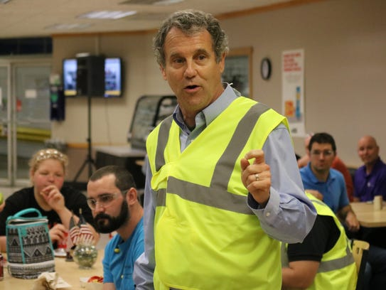 Sen. Sherrod Brown talks about the importance of enforcing