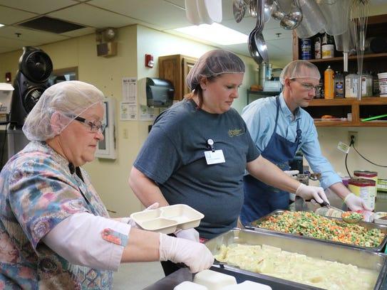Members of the Good Samaritan Society on Wednesday