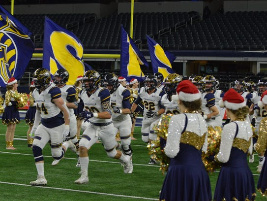 Stephenville enters the field prior to Kennedale's