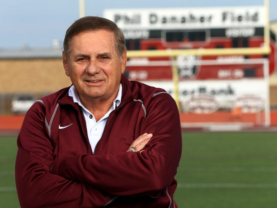 All-South Texas Coach of the Year Phil Danaher from