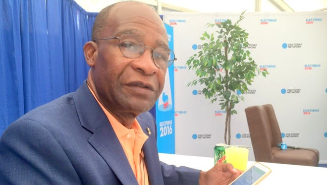 Hattiesburg Mayor Johnny DuPree at the Democratic National Convention.