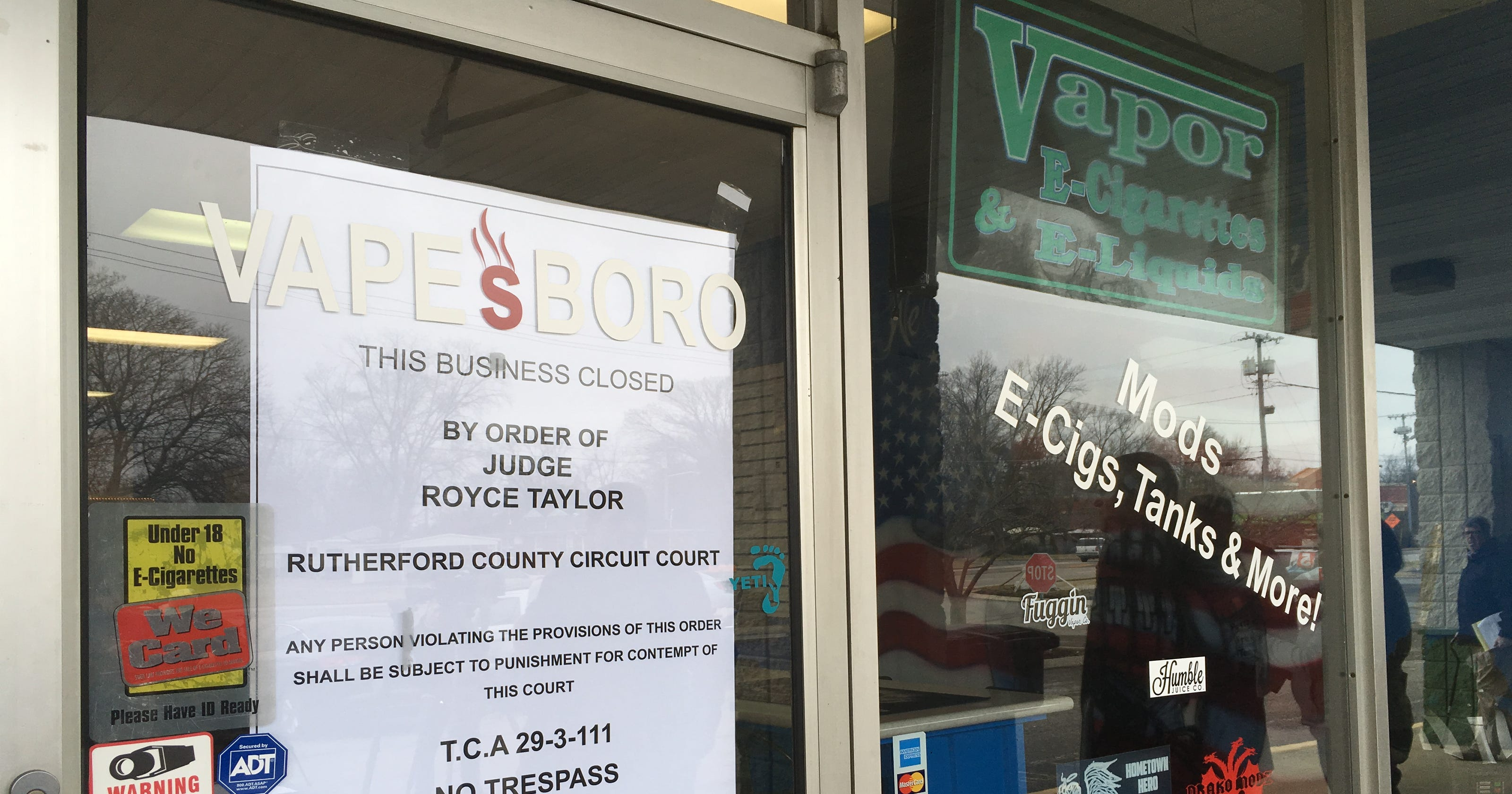 23 Rutherford County businesses closed for selling CBD candy